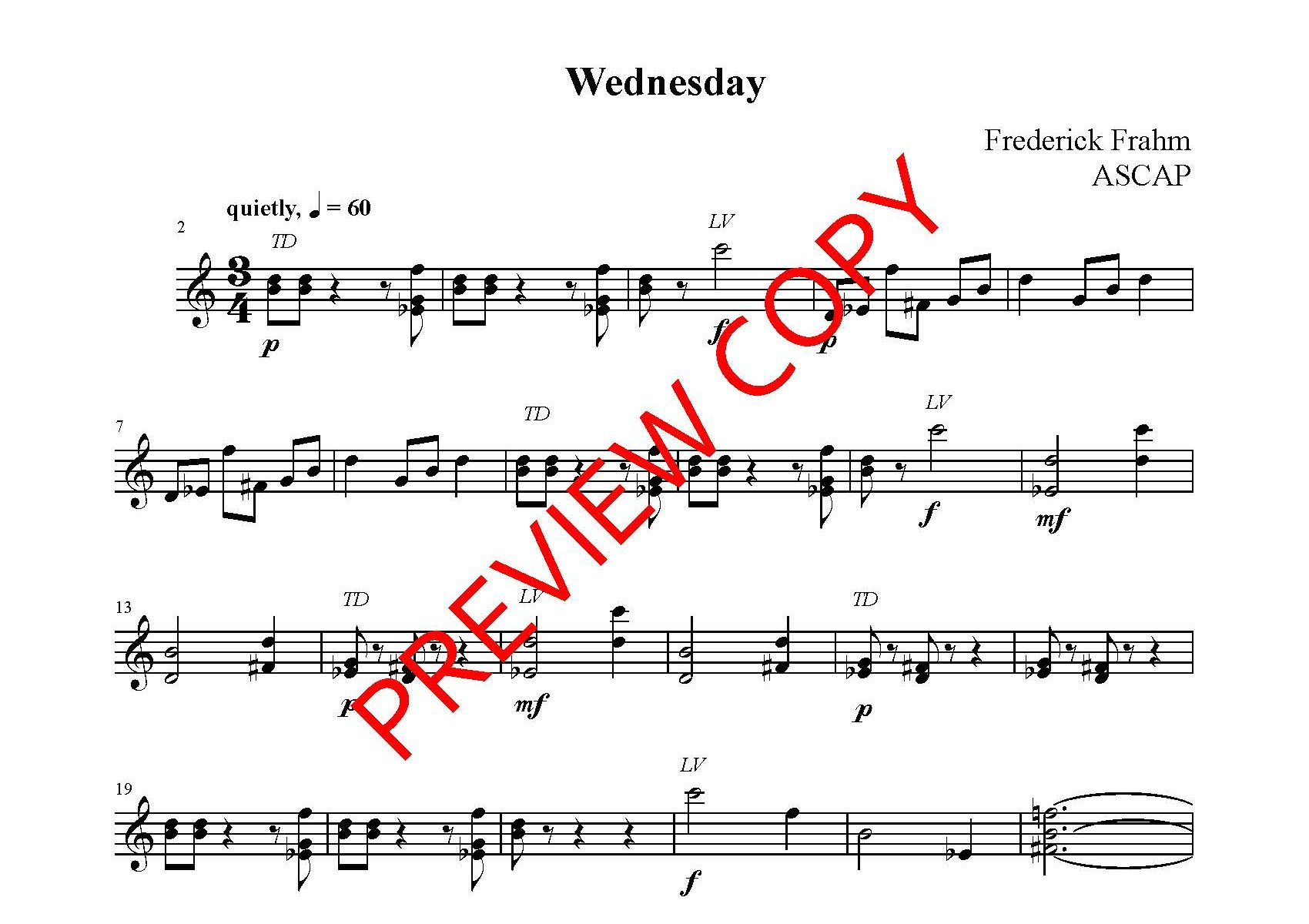 Frahm Ember Days first page