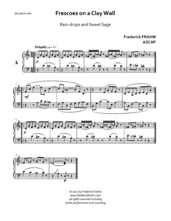 Frahm Frescoes first page